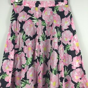 French Connection Floral print full skirt